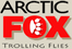 Arctic Fox Trolling Flies